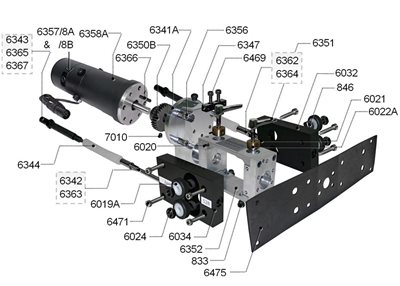 Gearbox Housing & Associated Parts