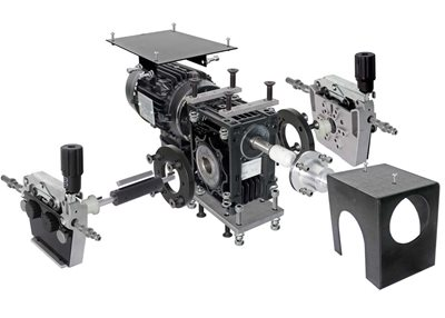 Wire Drive and Motor Assembly - Explosion