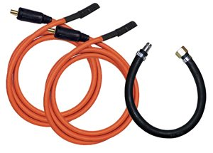 Quick Release Hose & Power Connectors for S250/350 Pistol (2 Cables)