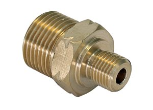 "Gas Union for 3/8"" hoses"
