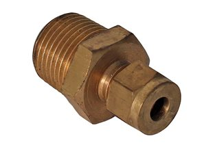 "1/2""Bsp x 1/4""Od Pipe Stud Coup"