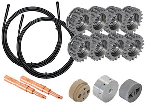 "Arcspray701 Conversion Kit from 1/8"" (3.17mm) to 2.3mm wires"