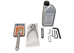 Arc528E Toolkit-Home Market - containing essential maintenance tools and Lubricating Oil