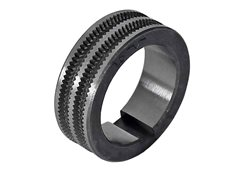 Roller Tyre 1.6mm/2.0mm Serated 'V'