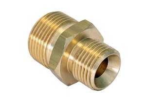 "3/4""BSP x 1/2""BSP Coned Coupler"