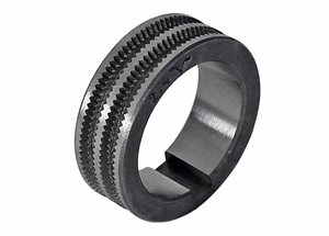 Roller Tyre 2.3mm/2.5mm Serated 'V'