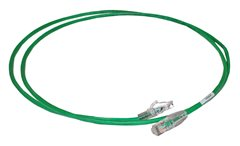 Green PowerCat5e UTP patch lead 7m
