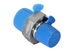 "3/8"" BSP Male x 1/4"" NPT Male Straight Adaptor (Stainless)"