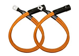 Energizer to Manifold Twin 70mm Power Cable x 2.5 Mtr (Pair)