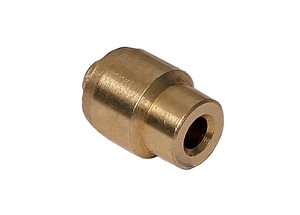 "1/4"" Brass 'N' Ferrule (heavy guage) for Nylon"