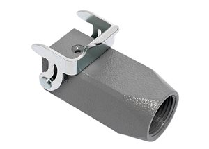 Han 3A Hood Coupler M20 with Locking Lever