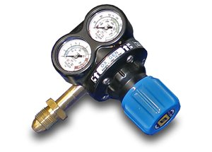"3/8"" BSP Oxygen Regulator (long supplies)"