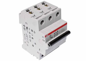 Mains Input Breaker 25A 'D' Rated (S250)